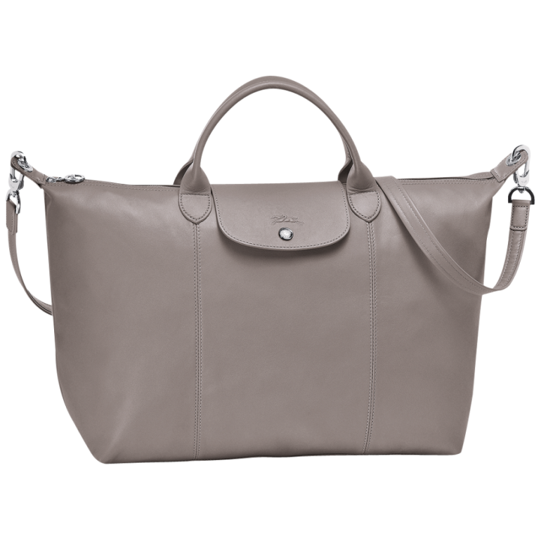 d50d0dbf6934 Longchamp Le Pliage Cuir Donna – Le Pliage Cuir Top-Handle L Top-handles  Pebble